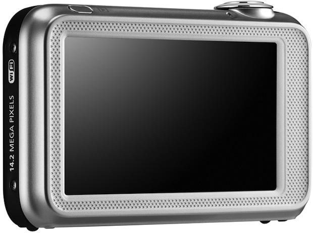 Samsung ST80 Wi-Fi Digital Camera - Back