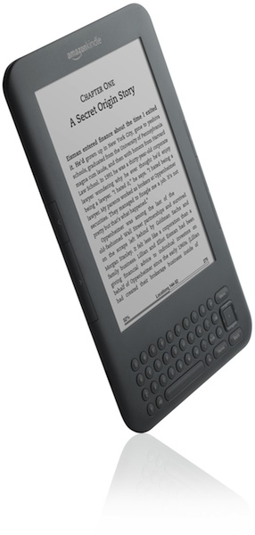 Amazon Kindle Graphite Angle