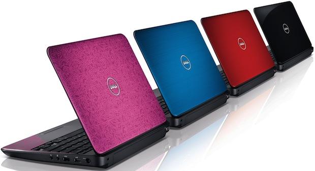 Dell Inspiron M101z Laptop Colors