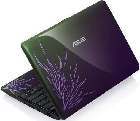 Asus 1001PQ Eee PC Netbook - Flame Purple