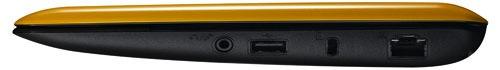 Asus 1001PQ Eee PC Netbook - side