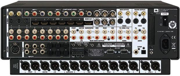 SDP-40HD Surround Processor - Back
