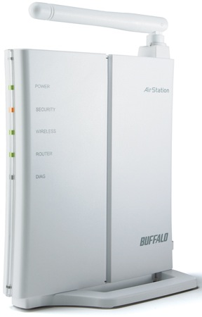 Buffalo WCR-GN N-Technology Wireless N150 Router and Access Point