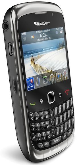 BlackBerry Curve 3G 9300 Smartphone graphite - left