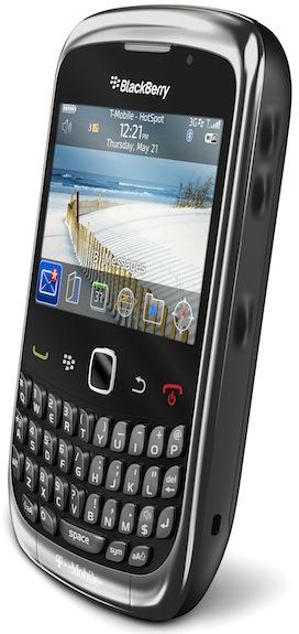 BlackBerry Curve 3G 9300 Smartphone graphite - right