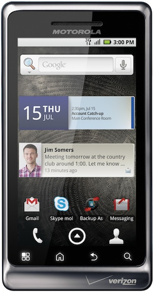 Motorola DROID 2 Smartphone - Front