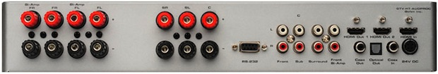 GefenTV Home Theater Audio Processor - Back