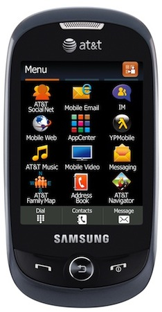 Samsung SGH-A927 Flight II Cell Phone - Front
