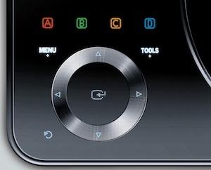 Samsung BD-C8000 Portable 3D Blu-ray Player -Back