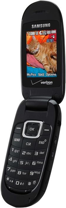 Samsung Gusto SCH-U360 Cell Phone - Open