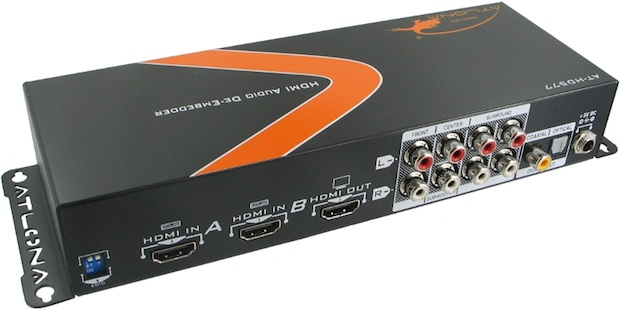 Atlona HDMI (1.3) Audio De-Embedder, with 3D Support, and 2 x 1HDMI switching