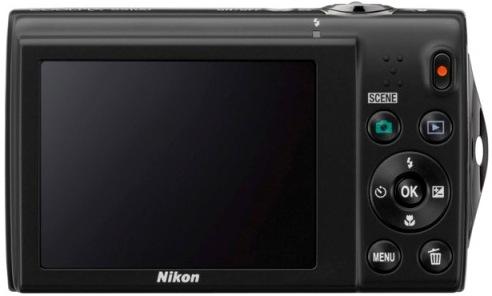 Nikon CoolPix S5100 Digital Camera - Back