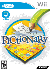 THQ uDraw Pictionary on GameTablet for Wii