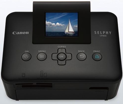 Canon SELPHY CP800 Compact Photo Printer - Black