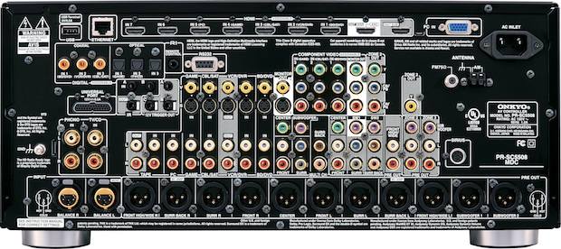 Onkyo PR-SC5508 THX-Ultra 2 Plus AV Preamplifier/Processor