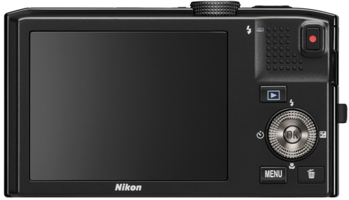 Nikon CoolPix S8100 Digital Camera - Back