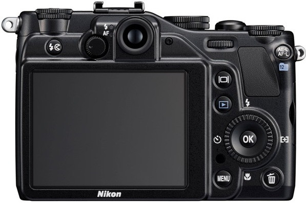 Nikon CoolPix P7000 Digital Camera - Back