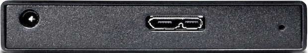 LaCie Rikiki USB 3.0 500GB Portable Hard Drive - Back