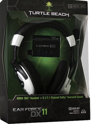 Turtle Beach Ear Force DX11 Dolby 7.1 Surround Sound System Bundle