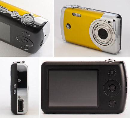 GE CREATE by Jason Wu Digital Camera - Yellow