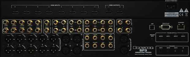 Bryston SP3 Surround Preamplifier Processor