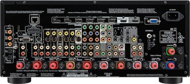 Integra DTR-50.2 THX-Select 2 Plus A/V Network Receiver - Back