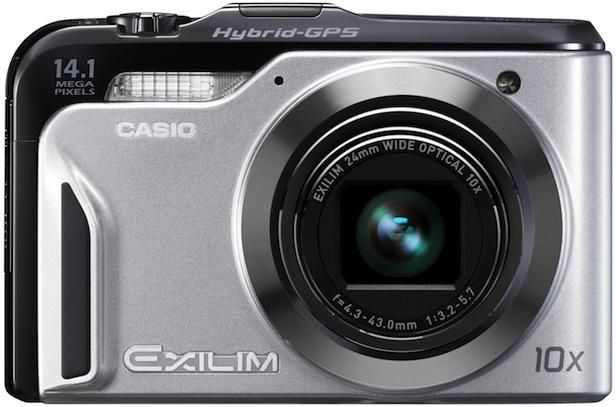 Casio EX-H20G Exilim Hybrid-GPS Digital Camera - Silver