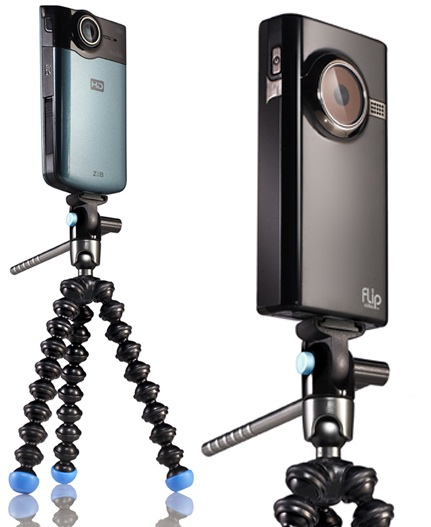 Joby Gorillapod Video Flexible Tripod with pocket camcorders