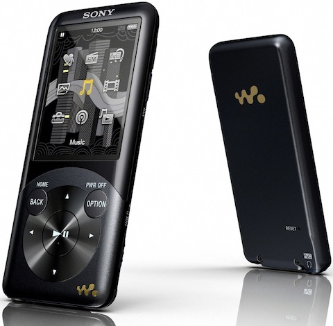 Sony NWZ-S750 Walkman MP3 Player