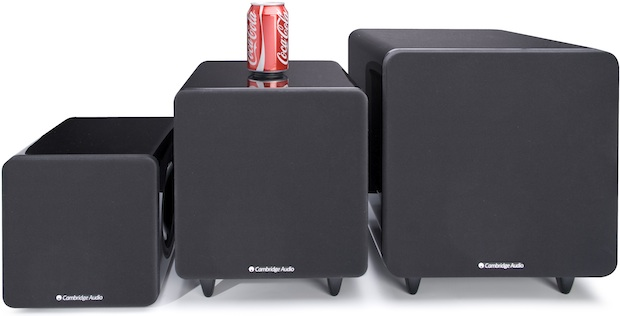 Cambridge Audio Minx X200, X300 and X500 Subwoofers