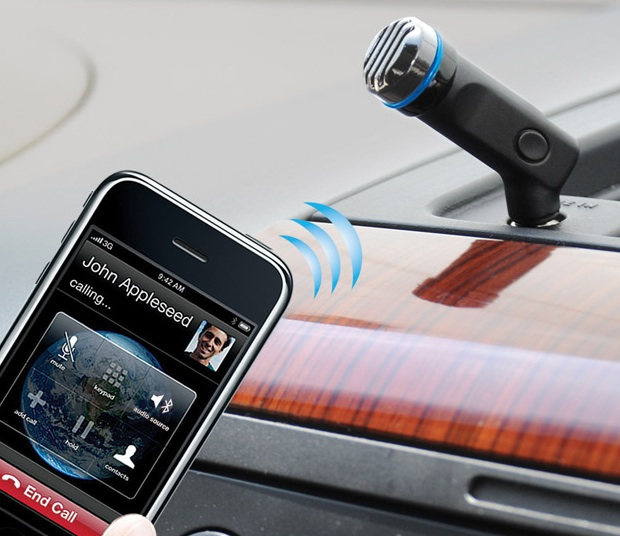 Scosche motorMOUTH II Bluetooth Car Adapter for hands-free caling