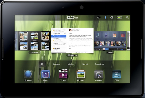 BlackBerry PlayBook 7-inch Tablet Navigator