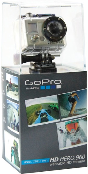 GoPro HD HERO 960 Wearable Sports Camera - Package