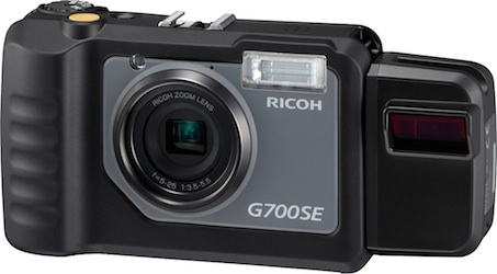Ricoh G700SE Waterproof GPS Digital Camera