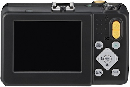 Ricoh G700SE Rugged Digital Camera - Back
