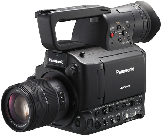 Panasonic AG-AF100 Micro Four Thirds Professional HD Camcorder