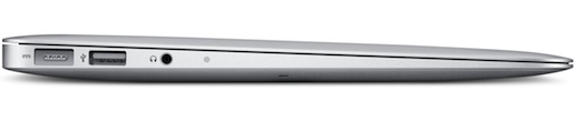 MacBook Air 11-inch Notebook - Side