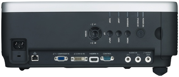 Canon REALiS WUX4000 Installation LCOS Projector - Back