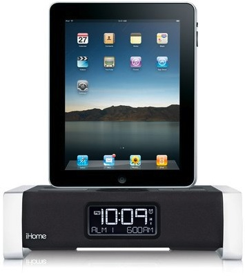 iHome iA100 Bluetooth Stereo System for iPad, iPhone and iPod w/ App Enhancement