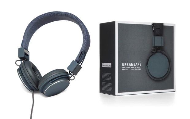 Urbanears Plattan Plus Headphones - Dark Grey