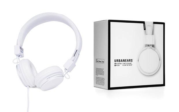 Urbanears Plattan Plus Headphones - White