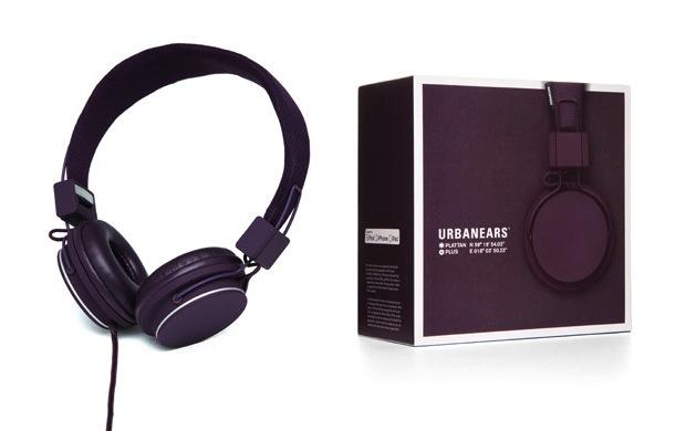 Urbanears Plattan Plus Headphones - Aubergine