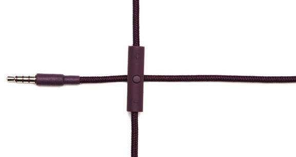 Urbanears Plattan Plus Headphone Controller - Aubergine