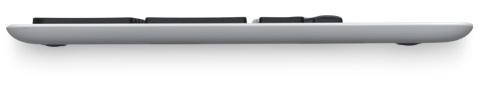 Logitech K750 Wireless Solar Keyboard - Side