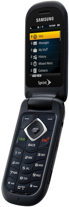 Samsung SPH-M360 Cell Phone - Open