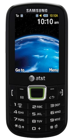 Samsung SGH-A667 Evergreen Cell Phone - Front