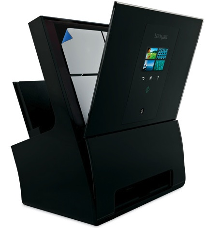 Lexmark Genesis S816 All-in-One Printer with Scanner Open