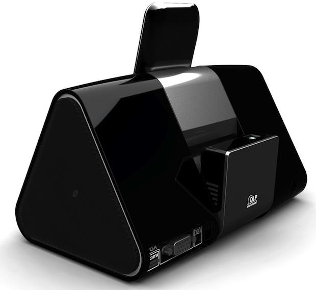 WowWee Cinemin Slice Pico Projector - Back