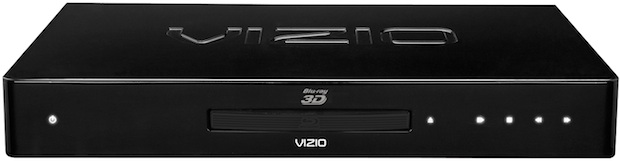 VIZIO VBR333 3D Blu-ray Player - Front