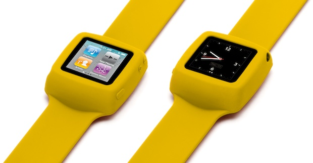 Griffin Slap Wristwatch Case for iPod nano - Yellow